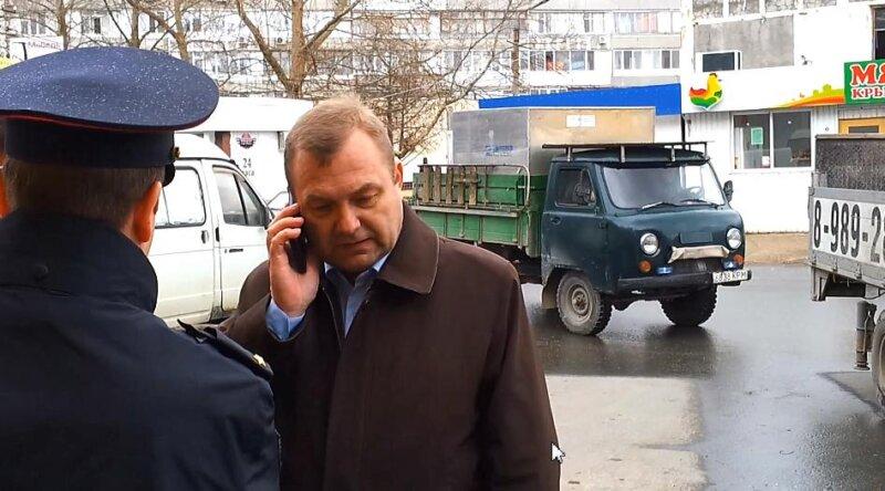 Незаконный снос ларьков в Севастополе.