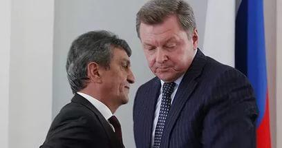 Схематическое изображение предполагаемых коррупционных связей в Правительстве Севастополя