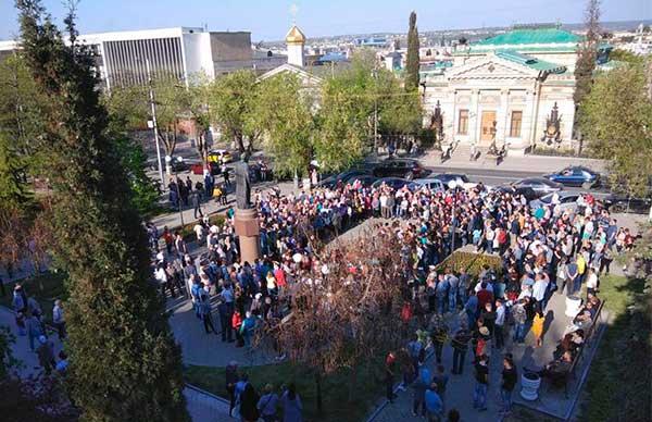 4 июня севастопольские предприниматели будут снова митинговать против беспредела и вызывать Дмитрия Овсянникова для дачи пояснений на площадь Нахимова!