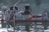 В Севастополе затонул плавучий док с подводной лодкой. Лодка уже всплыла...