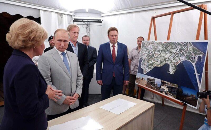 Обращение общественников в ФСБ по обстановке вокруг «культурного кластера» на мысе Хрустальный в центре Севастополя