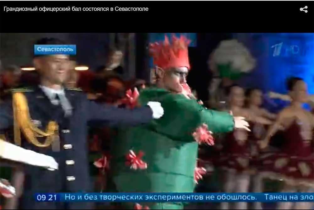 «Пир во время чумы» – шампанское и танцы о борьбе с коронавирусом под Высоцкого на площади легендарной Михайловской батареи во время офицерского бала в Севастополе