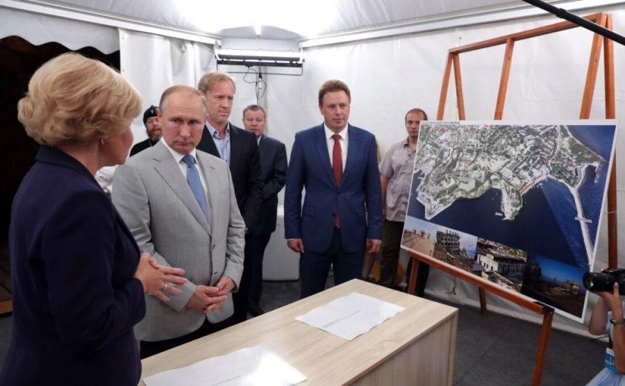 """Если, """"никакого проекта культурного кластера на Мысе Хрустальный нет даже на бумаге"""", то что показывала Путину Голодец и губернаторы Севастополя?"""