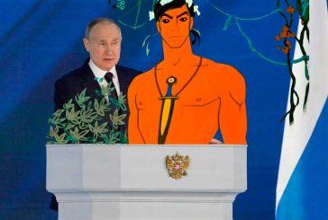 Если враги России - Табаки из Маугли, крутящиеся вокруг Шерхана, то с кем тогда ассоциировать Россию и Путина?
