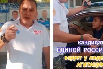 Александр Синявский обвинил 19-летнего единоросса Камила Мамутдинова в препятствии честным выборов в Севастополе, потребовав его исключения из ЕдРа