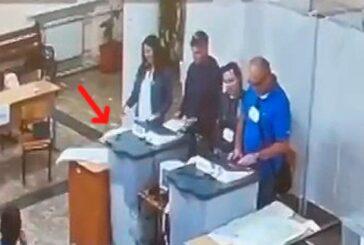 Председатель Севизбиркома Нина Фаустова неубедительно опровергла видеозапись вброса бюллетеней, сославшись не на ту норму закона